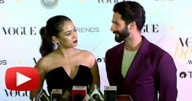 Shahid Kapoor SWEET Words For Mira Rajput And Her Style